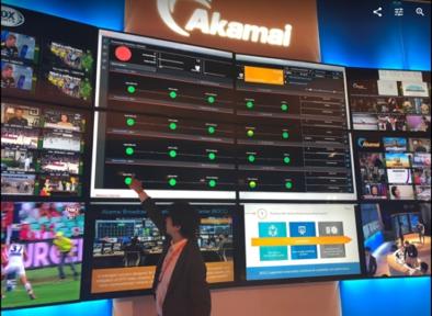 アカマイのBOCCで用いるオペレーション画面