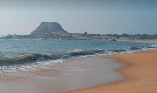 ヤーラ国立公園につながるビーチ