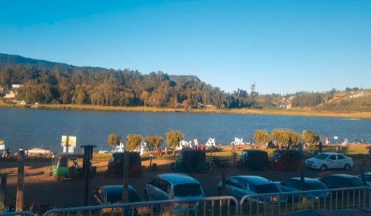 ヌワラ・エリヤの湖