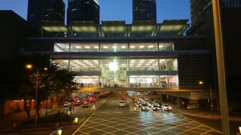 香港のApple Store
