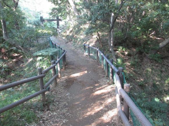 小机城の土橋跡