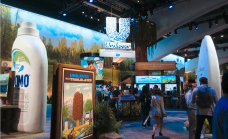 Unilever社展示