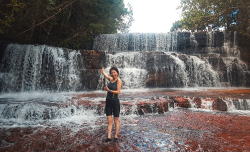 ハスベの滝