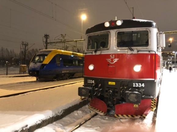 ルーレオの列車