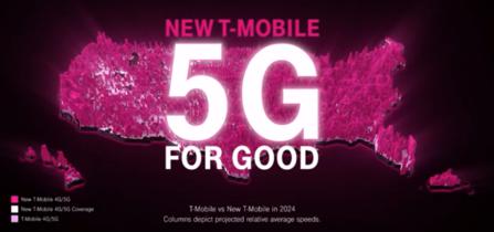 新生T-Mobileの全米規模の5Gサービス計画