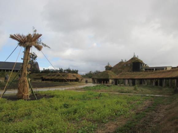 「ラ コリーナ近江八幡」の中庭
