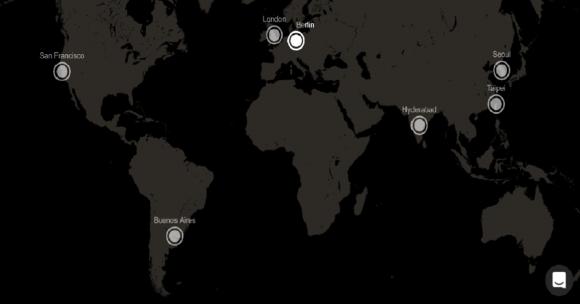 【図2】Global Residential Locations