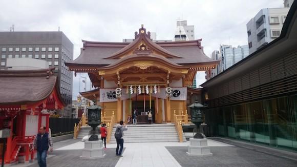 水天宮新社殿