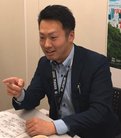 【写真8】神戸市 企画調整局創造都市推進部 長井係長