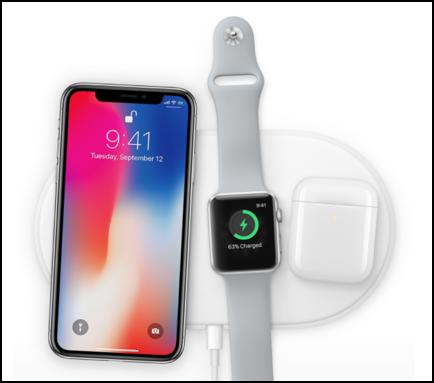 Appleが2018年に発売予定のワイヤレス充電器「AirPower」