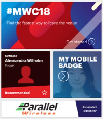 MWC専用アプリ
