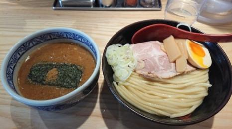 三田製麺所のつけ麺