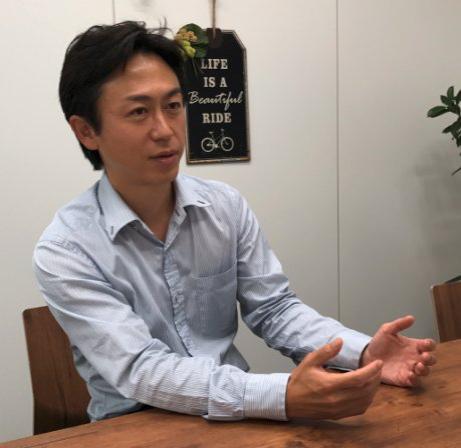 ライフサポートビジネス推進部の松田純二主査