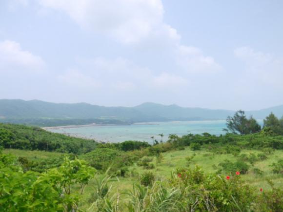 玉取崎展望台付近からの眺望(石垣島)