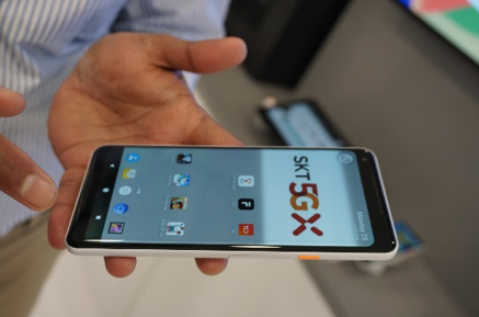 Sierraware社VMIで動作するスマートフォン