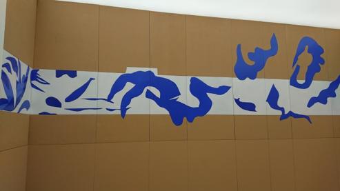 マチスの壁画