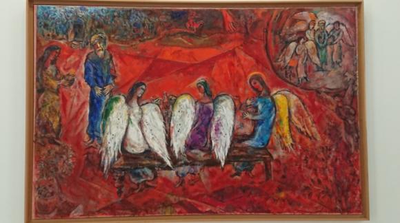 アブラハムと三天使