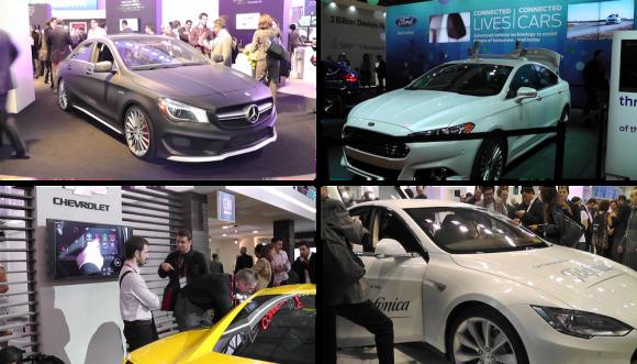MWC会場への出展が増えた自動車メーカー