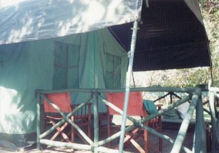 【写真4】マサイマラのロッジ