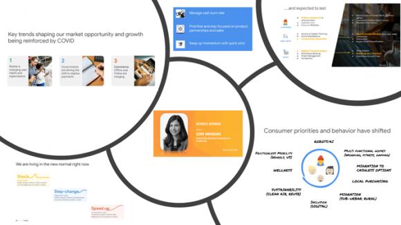 【図3】Google社の基調講演のポイント