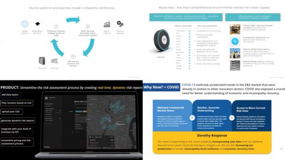 【図4】上: Wynd Technologies社のアーキテクチャーと製品詳細