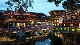 【写真11】現在の上海・豫園