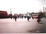 【写真5】35年前の北京・東単の交差点