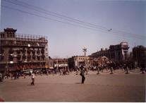 【写真6】35年前の上海・人民広場