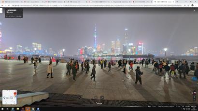 【写真8】現在の上海・外灘からの浦東方向