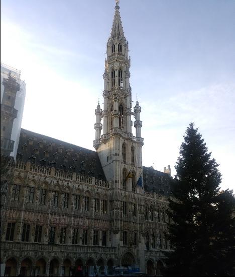 【写真3】ブリュッセル市庁舎