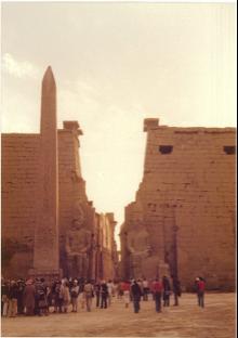【写真9】カルナック神殿