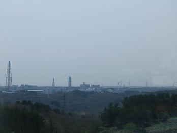【写真11】石油備蓄基地の方角