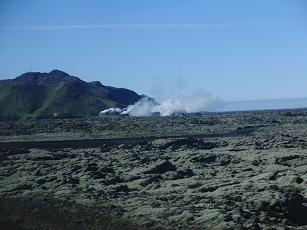 【写真18】アイスランドの大地とBlue Lagoon